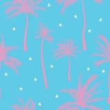 Vector Mooi exotisch tropisch de zomerpatroon met palmen vector illustratie