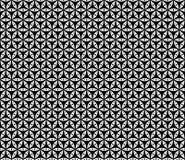 Vector Mooi zwart-wit naadloos patroon Royalty-vrije Stock Foto