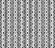 Vector Mooi zwart-wit naadloos patroon Royalty-vrije Stock Fotografie