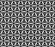 Vector Mooi zwart-wit naadloos patroon Royalty-vrije Stock Afbeeldingen