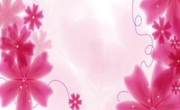 Vector mooie bloem Stock Fotografie