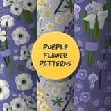 Vector mooie bloemenachtergrond van het boeket bloeit de naadloze patroon met bloesem illustratie bloemrijke tulp op huwelijk vector illustratie