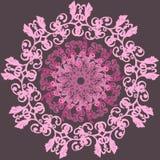 Vector Mooie Deco Gekleurde Gevormde contour Royalty-vrije Stock Afbeelding