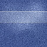 Vector Mooie Jeanstextuur Stock Fotografie