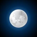 Vector moon Royalty Free Stock Photography