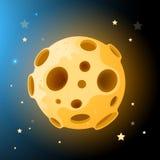 Vector Moon Rock. ! Vector illustration Stock Image