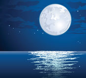 Vector moonlit Stock Photos