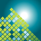Vector mosaic pattern design royalty free illustration