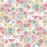 Vector mosaic pattern - seamless background. Stock Image