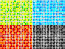 Vector Mosaic Tile - 4 colors Stock Images