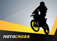 Vector motocross Stock Photos