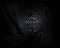 Vector motor wheels visual background Stock Images