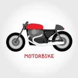 Vector motorbike Royalty Free Stock Images
