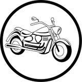 Vector motorcycle icon Stock Photo