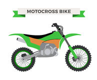 Vector motorcycle illustration. Moto bike  Royalty Free Stock Photos