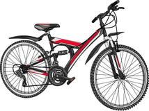 Vector mountain bike Stock Photo