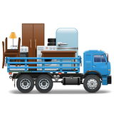 Vector Moving Concept Royalty Free Stock Images