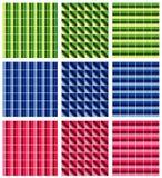 Vector mozaïekpatroon vector illustratie