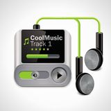 Vector mp3 player XXL icon Stock Photography