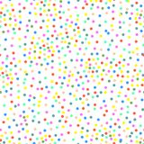 Vector multi-colored dots Stock Photo