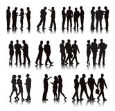 Vector of Multi-ethnic Business People Concept Stock Images