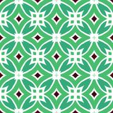 Vector multicolor ethnic pattern Royalty Free Stock Images