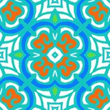 Vector multicolor ethnic pattern Royalty Free Stock Photo