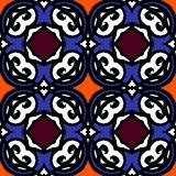 Vector multicolor ethnic pattern Indian motifs vector illustration