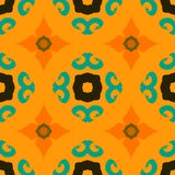 Vector multicolor ethnic pattern Indian motifs Stock Photo