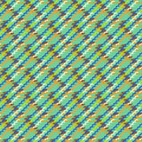 Vector multicolor modern version of houndstooth Royalty Free Stock Image