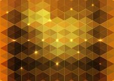 Vector of multicolor triangle background Royalty Free Stock Images
