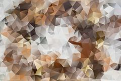 Vector abstract background of triangles. Vector multicolored abstract background of effect geometric triangles Stock Photography