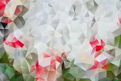 Vector multicolored abstract background of effect geometric triangles.  stock illustration