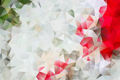 Vector multicolored abstract background of effect geometric triangles.  royalty free illustration