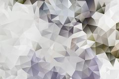 Vector multicolored abstract background of effect geometric triangles.  Royalty Free Stock Photo