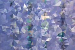 Vector abstract background of triangles. Vector multicolored abstract background of effect geometric triangles stock illustration