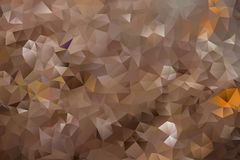 Vector abstract background of triangles. Vector multicolored abstract background of effect geometric triangles Royalty Free Stock Images
