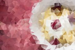 Vector abstract background of triangles Stock Image