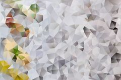 Vector abstract background of triangles Royalty Free Stock Images