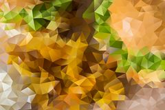 Vector abstract background of triangles Royalty Free Stock Photography