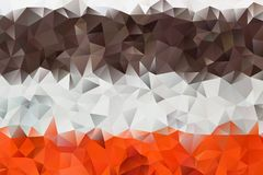 Vector abstract background of triangles Royalty Free Stock Image