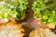 Vector abstract background of triangles Stock Images