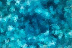 Vector abstract background of triangles. Vector multicolored abstract background of effect geometric triangles Stock Images