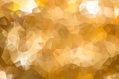 Vector multicolored abstract background of effect geometric triangles.  Royalty Free Stock Images