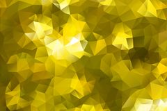 Vector multicolored abstract background of effect geometric triangles.  Royalty Free Stock Photos