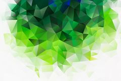 Vector multicolored abstract background of effect geometric triangles.  vector illustration