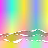 Vector Multicolored Background Stock Images