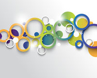 Vector multicolored infographics concept background. Eps10 vector multicolored infographics concept background Royalty Free Stock Photos