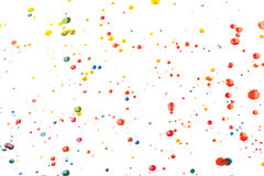 Vector Multicoloured Paint Splats and Blobs. Vector Colourful Multicoloured Paint Splats and Blobs Royalty Free Stock Photo