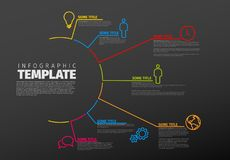 Vector multipurpose Infographic template Stock Photos